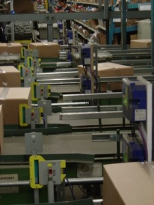 Fixed Position Readers in Warehouse Applications